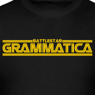 T-shirts, mugs, and accessories for editors, grammar lovers, linguists, and word nerds.